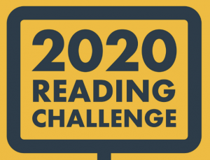 "A screen capture that says ""2020 Reading Challenge."""