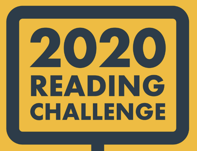 """A screen capture that says """"2020 Reading Challenge."""""""