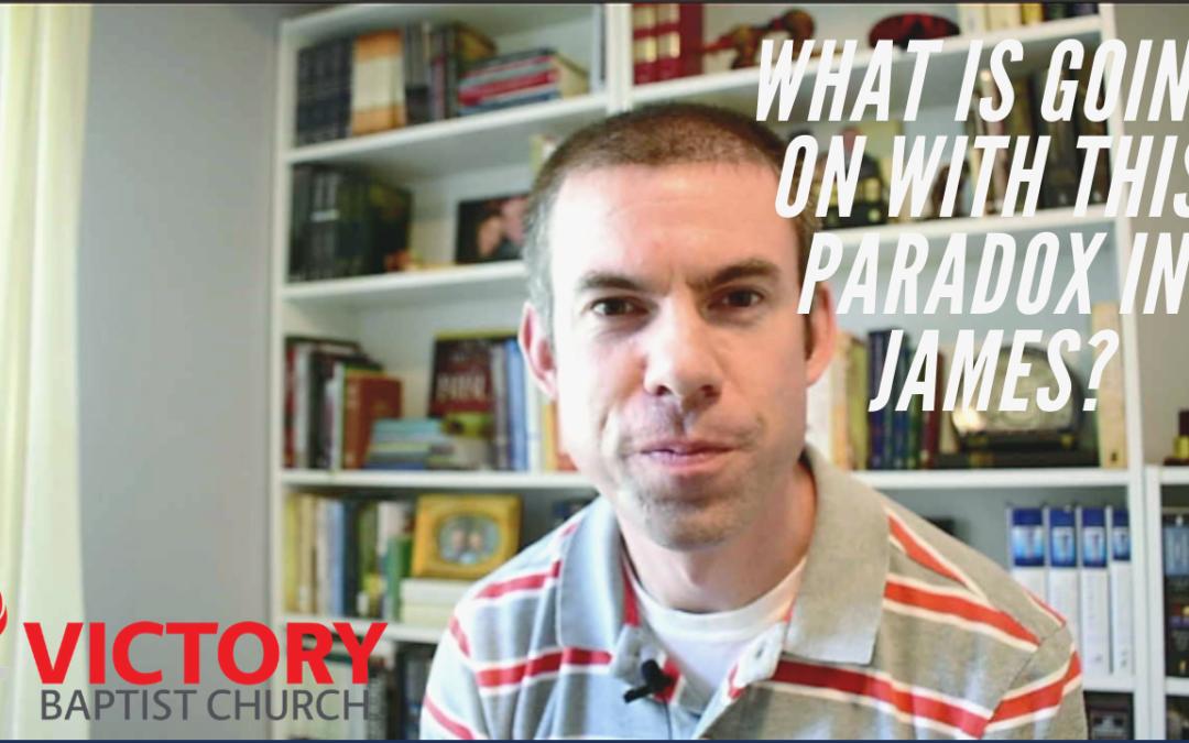 Paradox in James 1:9–10