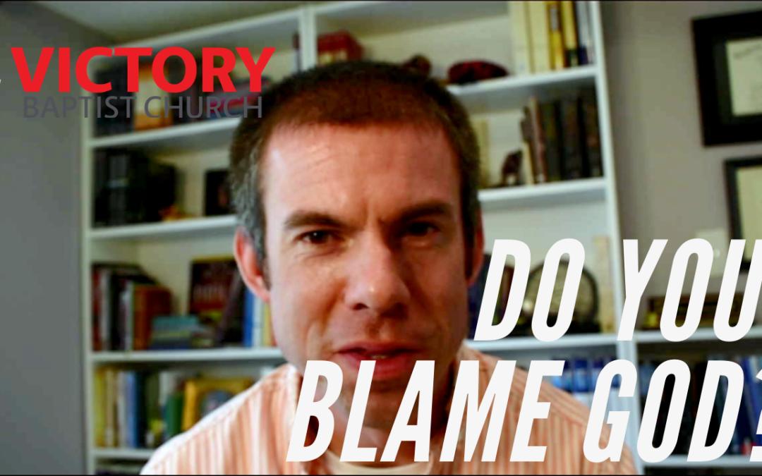 Who Blames God?