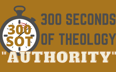WHAT IS THE AUTHORITY OF SCRIPTURE?
