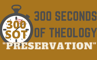 WHAT IS THE PRESERVATION OF SCRIPTURE?