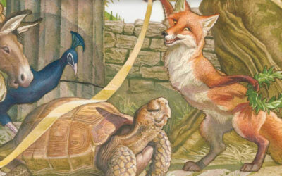 Frogs, an Eagle, Monkeys, and Giving: The Lexical Intersection Between the Greek New Testament and Aesop's Fables