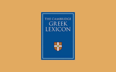 How to Read an Entry in The Cambridge Greek Lexicon